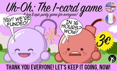 Visuel du projet Uh-Oh - Le jeu à 1 carte !