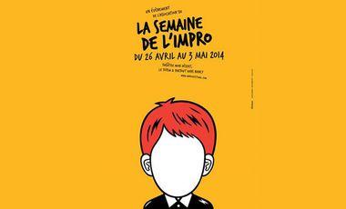 Visueel van project LA SEMAINE DE L'IMPRO 2014