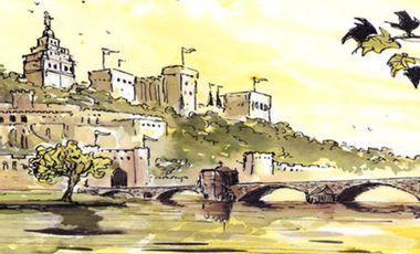 Project visual BD sur l'Histoire d'Avignon
