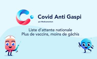 Visuel du projet Covid Anti Gaspi, accélérons ensemble la vaccination !