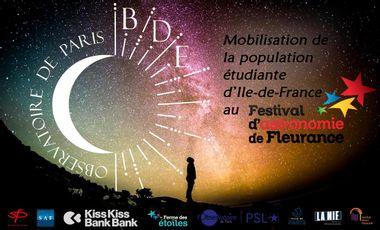 Visuel du projet Mobilisation étudiante d'Île-de-France au Festival d'Astronomie de Fleurance