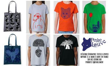 Visuel du projet Des tee-shirts pour les grands et les petits en coton bio produit équitablement
