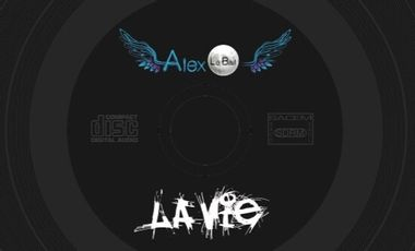 """Visuel du projet Premier EP d'Alex Le Bail """"La Vie"""""""