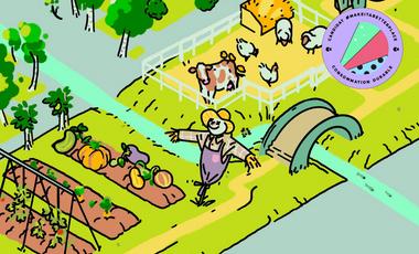 Visuel du projet TEAO, le jeu de la consommation responsable