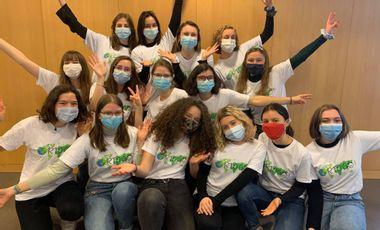 Visueel van project Orto'go 2021 - A vos masques, prêts, partez !