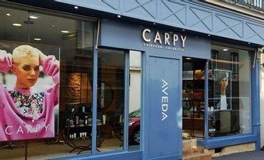 Project visual Un coup de pouce pour la reprise du salon Carpy coiffeur rue laitière à Bayeux