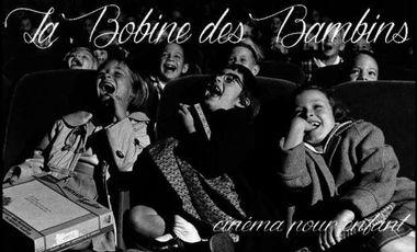 """Project visual Création de """"La Bobine Des Bambins"""", cinéma pour enfants (Cinéma Solaire)"""