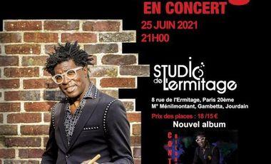 Project visual Concert de Conti Bilong Studio de l'Ermitage