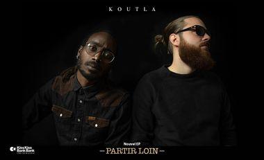 Visuel du projet Partir loin - Nouvel EP de Koutla