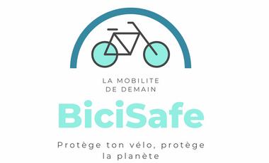 Project visual BiciSafe : Votre réseau d'abris vélos connectés