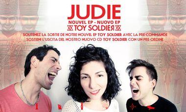 Visueel van project Judie - Nouvel EP Toy Soldier