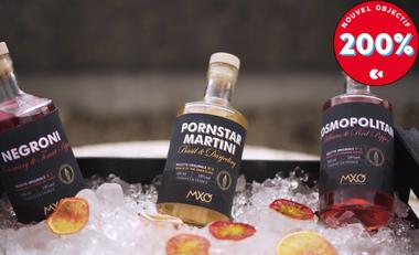 Visueel van project MXO - Cocktails prêts à déguster, made in France