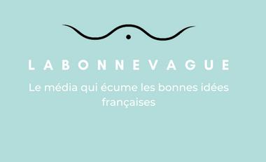 Visueel van project La Bonne Vague, le média qui met en avant les marques et créateurs français