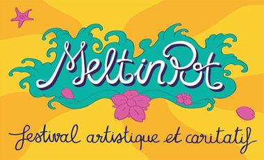 Visueel van project « Melt in Pot » festival artistique et caritatif !