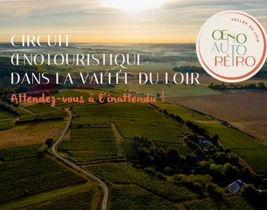 Project visual Circuit oenotouristique dans le vignoble insoupçonné de la Sarthe