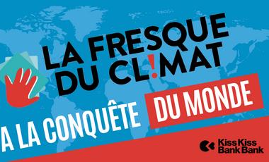 Project visual La Fresque du Climat à la conquête du monde!