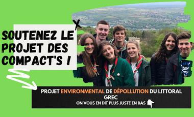 Visuel du projet Projet Environnemental Scout Les COMPACT'S ✌🏻