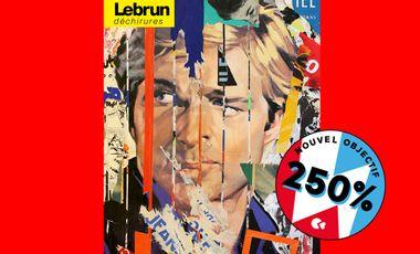 Visueel van project Préachetez LEBRUN DÉCHIRURES première monographie de l'artiste Dominique Lebrun