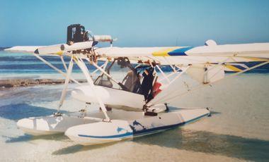 Visuel du projet Ecole de pilotage ULM hydro