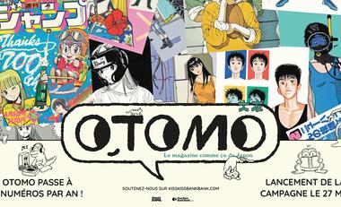 Visuel du projet OTOMO, le magazine comme ça du Japon.