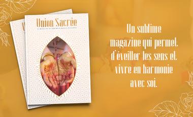 Visueel van project Magazine Union Sacrée