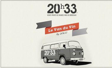 Project visual Le Van du Vin by 20h33