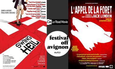 Visuel du projet Le Road Movie Cabaret au Festival d'Avignon 2021