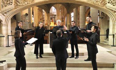Visuel du projet L'hommage de l'ensemble Pérotin le Grand à la cathédrale Notre-Dame de Paris