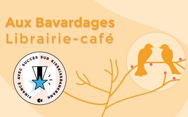 Visuel du projet Aux Bavardages - Librairie-café indépendante