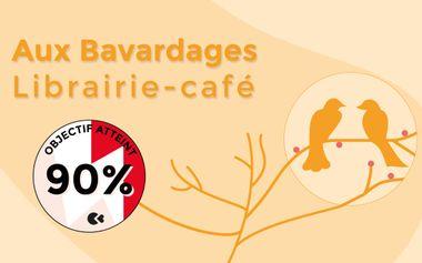 Visueel van project Aux Bavardages - Librairie-café indépendante