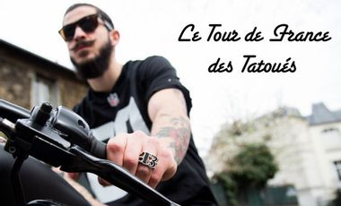 Visueel van project The Tattoorialist : le Tour de France des tatoués