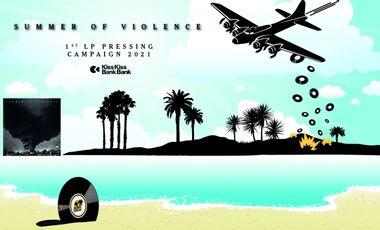 Visueel van project Financement participatif du pressage vinyle - 1er album de Summer of Violence
