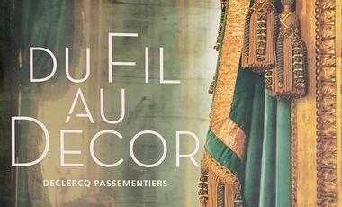 Project visual Du fil au décor : financement d'un ouvrage sur la Maison Declercq Passementiers