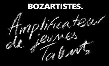 Visuel du projet Bozartistes. - Revue dédiée à la jeune scène artistique.