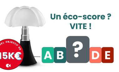 Visueel van project L'éco-score du mobilier