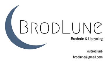 Visueel van project BrodLune, broderie et surcyclage