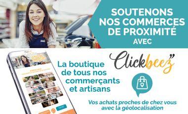 Project visual Clickbeez, le e-commerce local à échelle nationale