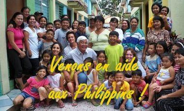 Visueel van project Venons en aide aux Philippins ! MERCI A TOUS !