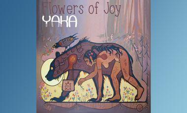 """Project visual Création du 2ème Cd  """"Flowers of Joy """" du groupe YAKA"""