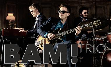 Project visual BAM! Trio, pressage du premier album en cd et vinyle / réalisation d'un clip pro