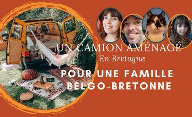 Visueel van project Un camion aménagé pour une famille Belgo-Bretonne