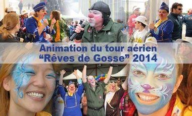 """Project visual Animation du tour aérien """"rêves de gosse"""" 2014"""