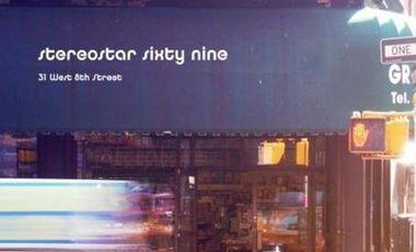 Visuel du projet Stereostar Sixty Nine - 31 West 8th Street - CD