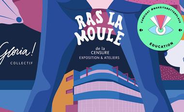 """Project visual Exposition """"Ras la moule de la censure"""""""