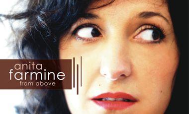 "Visuel du projet Anita Farmine premier album ""From above"""