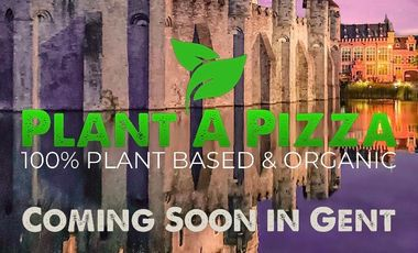 Visueel van project Plant A Pizza: the first plant based & organic pizzeria in Belgium