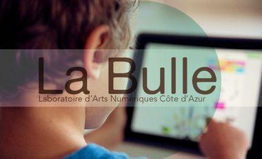 Visueel van project Des ateliers ludiques et créatifs sur Ipad pour les petits et les grands avec La Bulle :: Laboratoires d'Arts Numériques