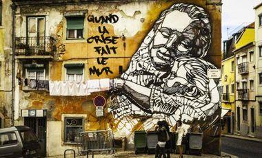 Project visual Quand la crise fait le mur : le street art à Lisbonne !