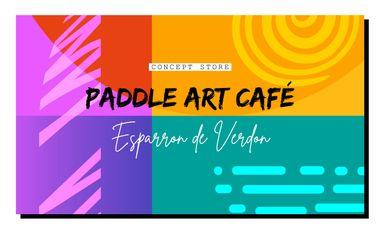Visuel du projet PADDLE - ART - CAFÉ : Concept store sur le thème de l'eau à Esparron-de-Verdon