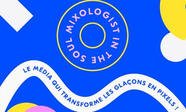 Project visual Mixologist In The Soul, le média qui transforme les glaçons en pixels